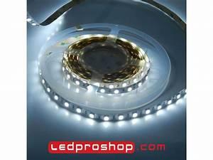 Ruban Led Blanc Froid : ruban led tanche ruban led de puissance blanc froid 6500 k 14 4 w m garantie 2 ans ~ Dode.kayakingforconservation.com Idées de Décoration
