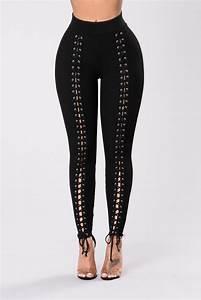Stick By Me Legging - Black | Leggings by Fashion Nova