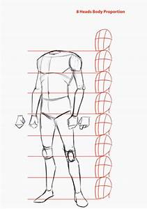 How To Draw The Human Body Step By Step  How To Draw A