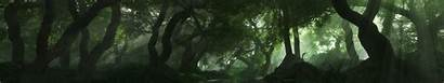 7680 1440 3d Forest Wallpapersafari Scene Render