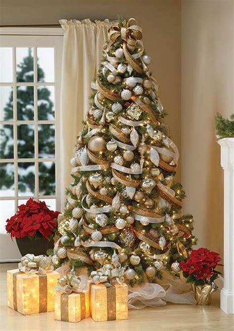 ideas  christmas tree decorations