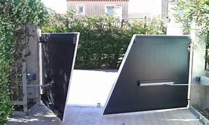 Butée De Portail Battant : motorisation de portails battants geko bras coulisses ~ Edinachiropracticcenter.com Idées de Décoration