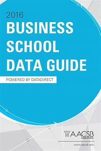 Aacsb Business School Data Guide