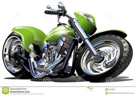 Cartoon Motorcycle Stock Illustrations