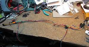 Car Stereo  Amplifier And Gauge Wiring On The Saab C900
