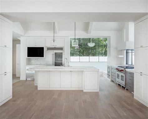 modern white floor l modern white kitchen wood floor interior design