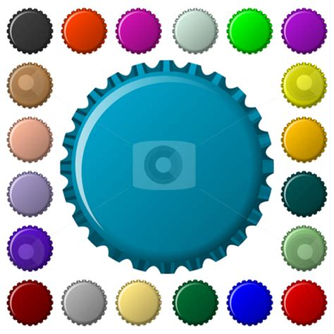 chagne glass cartoon bottle cap clipart