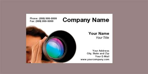 photography business cards photography business