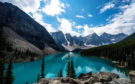 Wallpaper Hd by Moraine Lake Canada 4k Wallpapers Hd Wallpapers Id 18306
