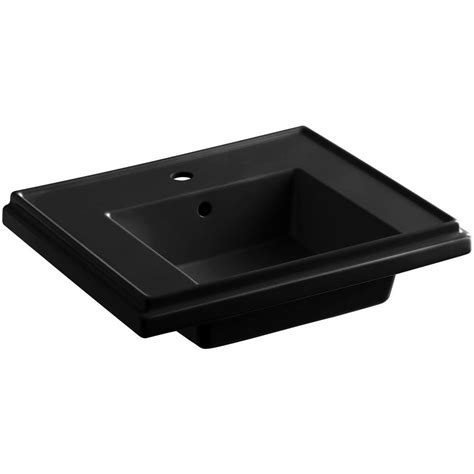 kohler tresham pedestal sink kohler tresham 24 in fireclay pedestal sink basin in