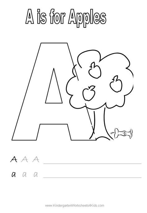 handwriting worksheets  images alphabet kindergarten