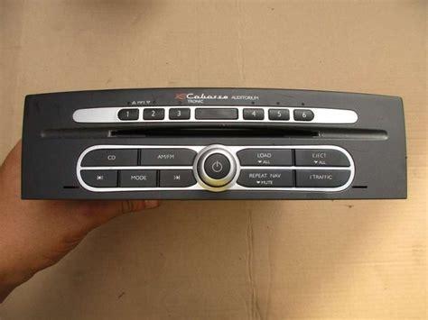 renault laguna 2 grandtour 2 2 dci radio autoradio cabasse auditorium 8200326998 ebay