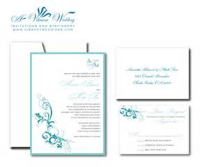 catholic wedding program templates turquoise wedding invitation a vibrant wedding