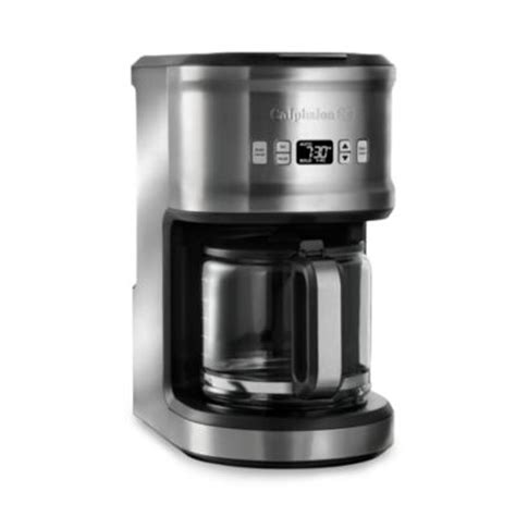 cuisinart coffee maker bed bath beyond buy cuisinart 174 4 cup coffee maker with stainless steel
