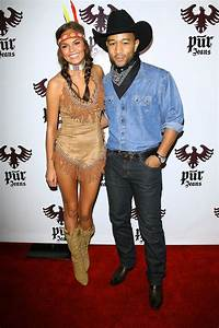 John Legend and Chrissy Teigen as a Cowboy and Indian | 50 ...