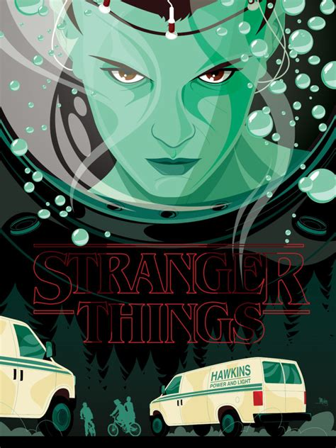 stranger things fan shirt the poster posse wraps it s artistic arms around netflix