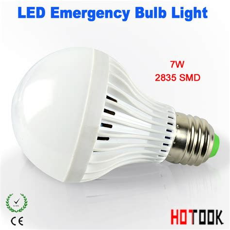 7w led emergency light rechargeable led batteries bulb