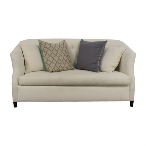 Safavieh Sofa by 85 Safavieh Safavieh Tufted White Sette Sofa