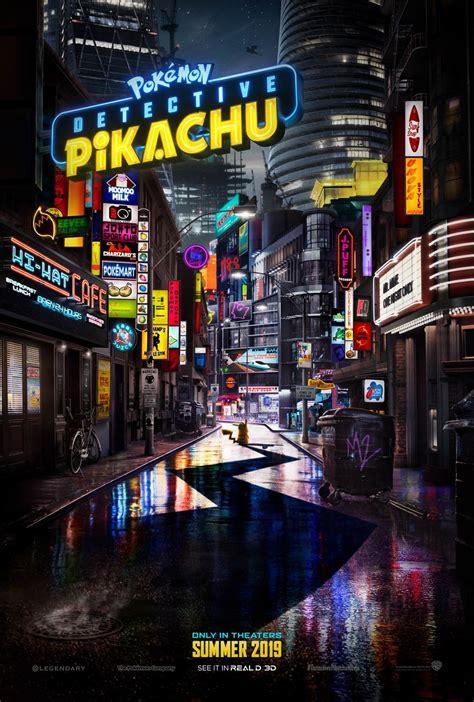 ryme city  detective pikachu poster comingsoonnet