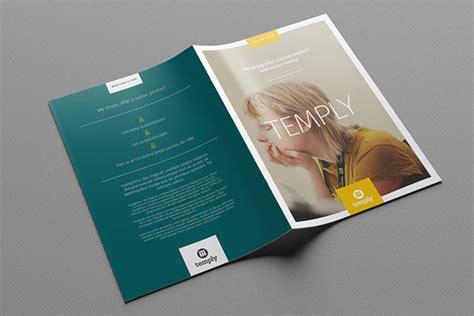 Template Folding Brochure Design Style Material 35 Beautiful Modern Brochure Folder Design Ideas 2014