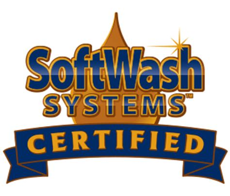 certified applicator softwash systems