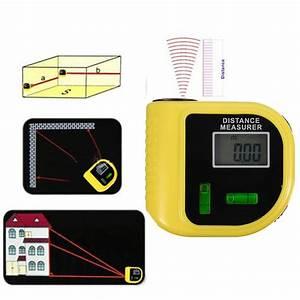 Mesureur De Distance Laser Portable : ultrason lcd digital t l m tre pointeur laser m tre ~ Edinachiropracticcenter.com Idées de Décoration