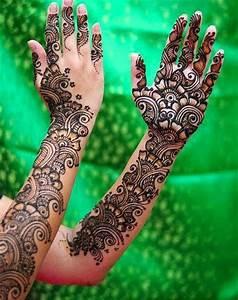 Full Hand Mehndi Designs For Brides From Winter Season ...