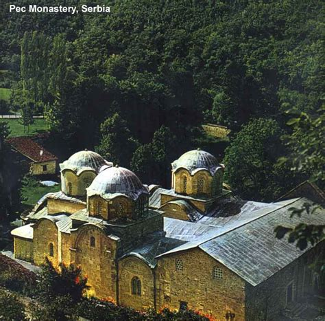 serbian monasteries  frescos