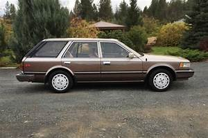 Brown And Velour  1986 Nissan Maxima Wagon