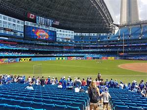 Rogers Concert Seating Chart Rogers Centre Section 130a Toronto Blue Jays