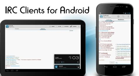 best chat for android best irc relay chat clients for android