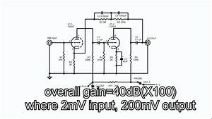 Audio Lecture 26  12ax7 Mm Phono Eq Circuit  Moving Magnet