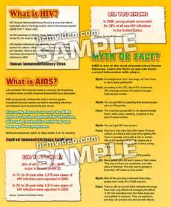 HIV and Aids Pamphlet
