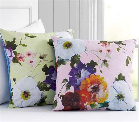hannah decorator floral decorative pillows pottery barn kids