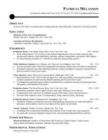 chronological format resume sle chronological resume sle recentresumes