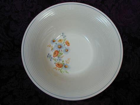 american limoges triumph blue daisy vegetable bowl annie