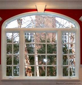 Eyebrow Window Treatments - Newton Custom Interiors