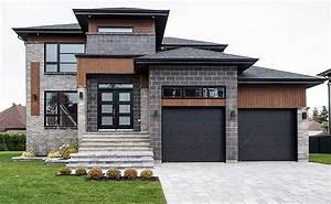 Multi-level Modern House Plan