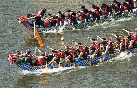 Dragon Boat Racing the custom of dragon boat festival 171 festivals customs