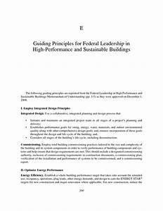 Appendix E: Guiding Principles for Federal Leadership in ...