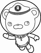 Coloring Pages Barnacles Captain Octonauts Dashi Underwater Helmet Wecoloringpage Colouring Boys Printable Drawing Print Getcolorings Clipartmag Clipart sketch template