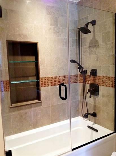 Shower Bathroom Designs Tub Remodel Glass Wall