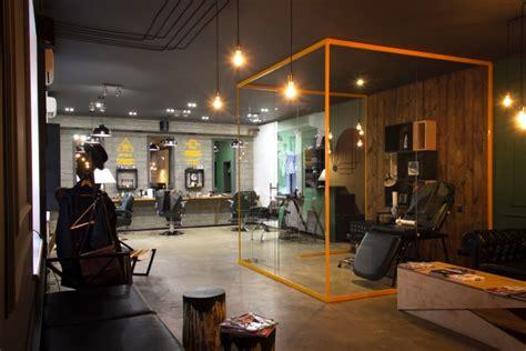 Modern Barber Shop Design Ideas by Barboss Barbershop And Salon By Workshop Dmitriy