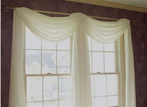 Curtain Scarf Ideas, Curtains With Swags And Window Walmart French Door Curtains Magnets For Shower Curtain Sari Panels White Tab Top Different Rods Pottery Barn Clearance Blue Lined Thermal