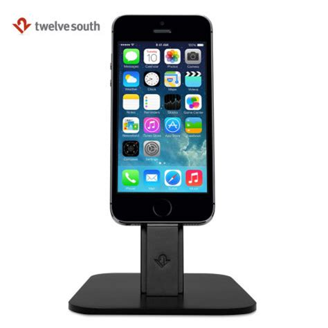 support bureau iphone support bureau iphone lightning twelve south hirise noir