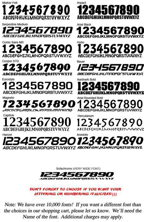 pin  peter king hunsinger  racing car numbers fonts