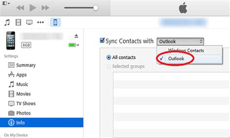 sync contacts to phone how to sync outlook contacts to iphone