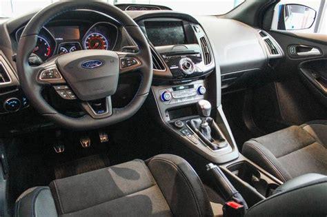 2016 ford focus rs release date price specs 0 60 interior design