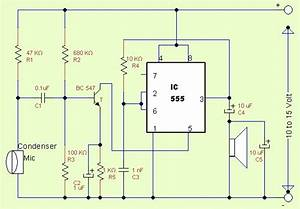 Ic555 As Amplifier - Theorycircuit