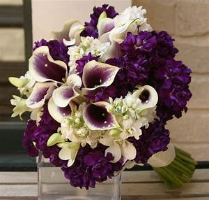 Purple Wedding Flower Arrangements - Wedding and Bridal ...